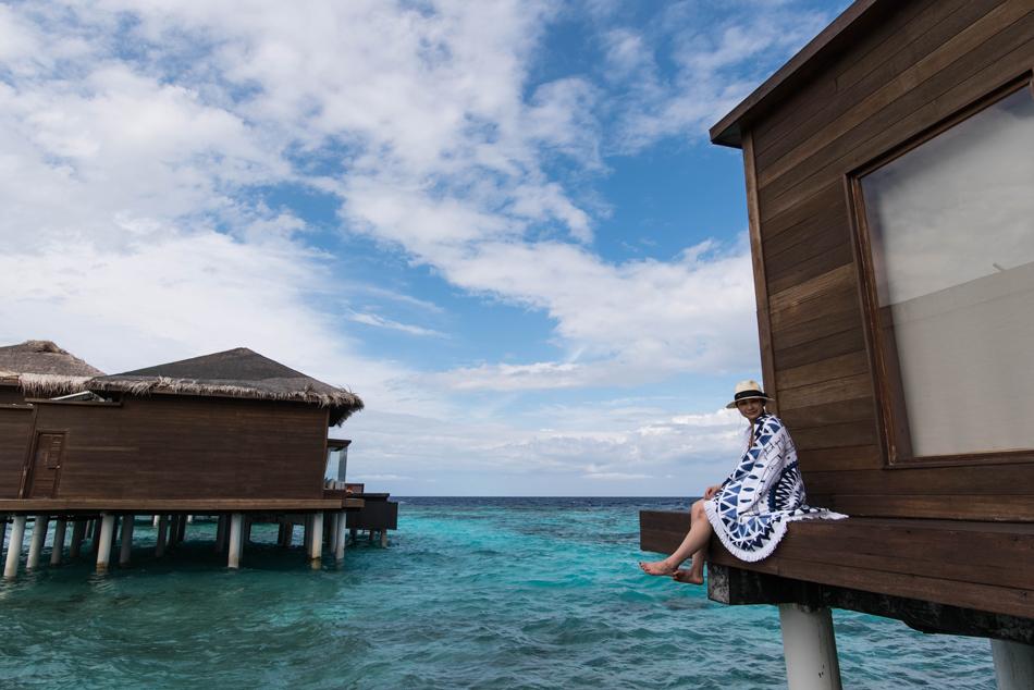 新婚旅行でウユニ塩湖から日本に戻ってさらにモルディブに行く。Part2