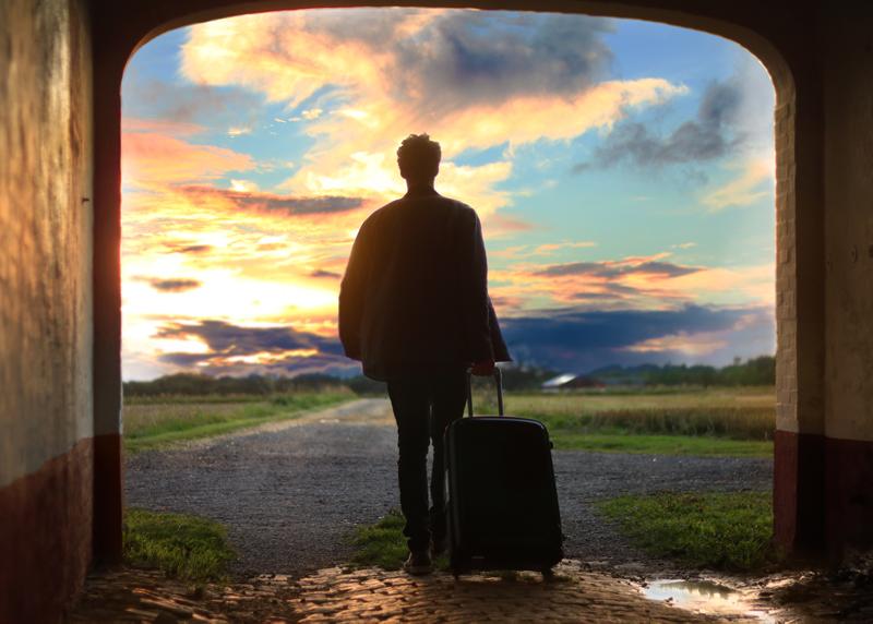 長期海外旅行はソフトキャリーバッグ(コロコロバックパック)がおすすめ