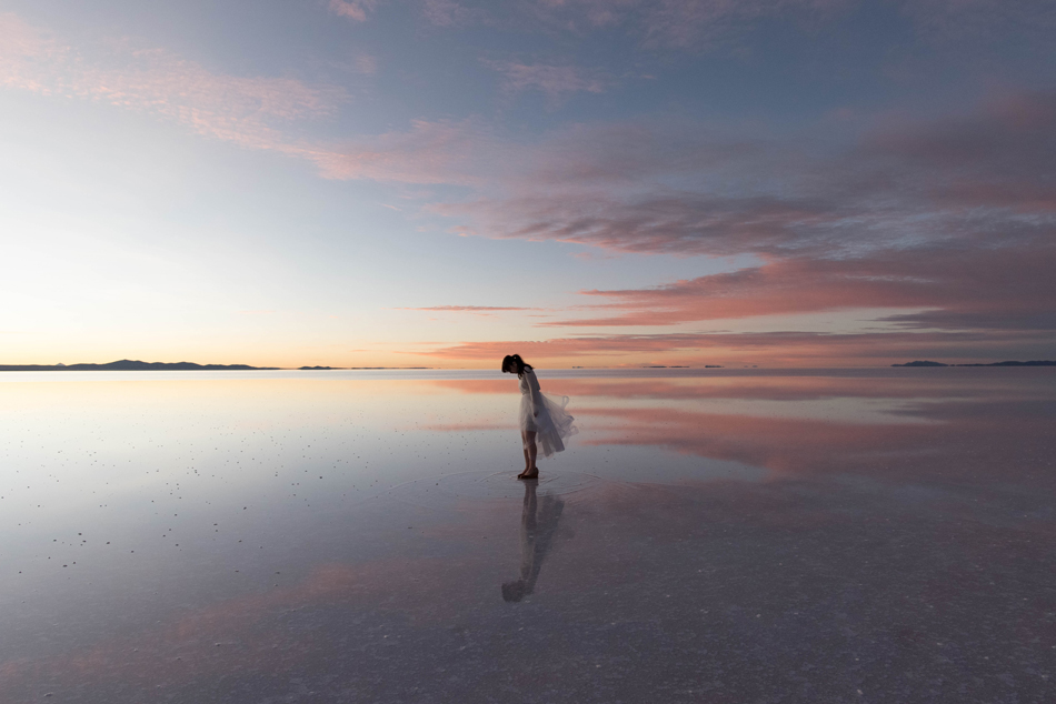 新婚旅行でウユニ塩湖から日本に戻ってさらにモルディブに行く。Part1